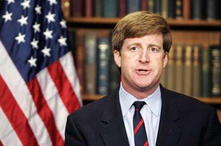 Patrick Kennedy glömmer vägen som ledde till dagens iranska diktatur